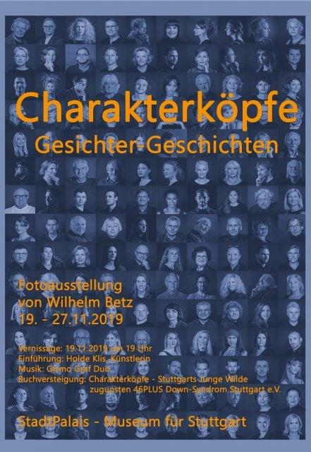StadtPalais – Museum für Stuttgart Charakterköpfe
