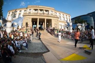 StadtPalais – Museum für Stuttgart Stuttgart am Meer 2019, Palais du Beast 2, Skateboardcontest Foto: Daniel Wagner