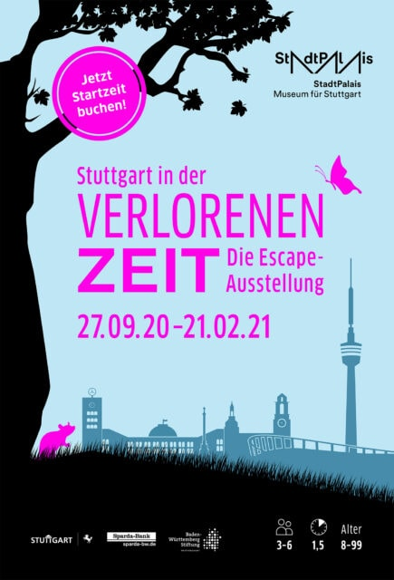 StadtPalais – Museum für Stuttgart Stuttgart in der verlorenen Zeit – Die Escape-Ausstellung