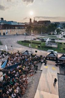 StadtPalais – Museum für Stuttgart Stuttgart am Meer 2019, Palais du Beast 2, Skateboardcontest Foto: Julia Ochs
