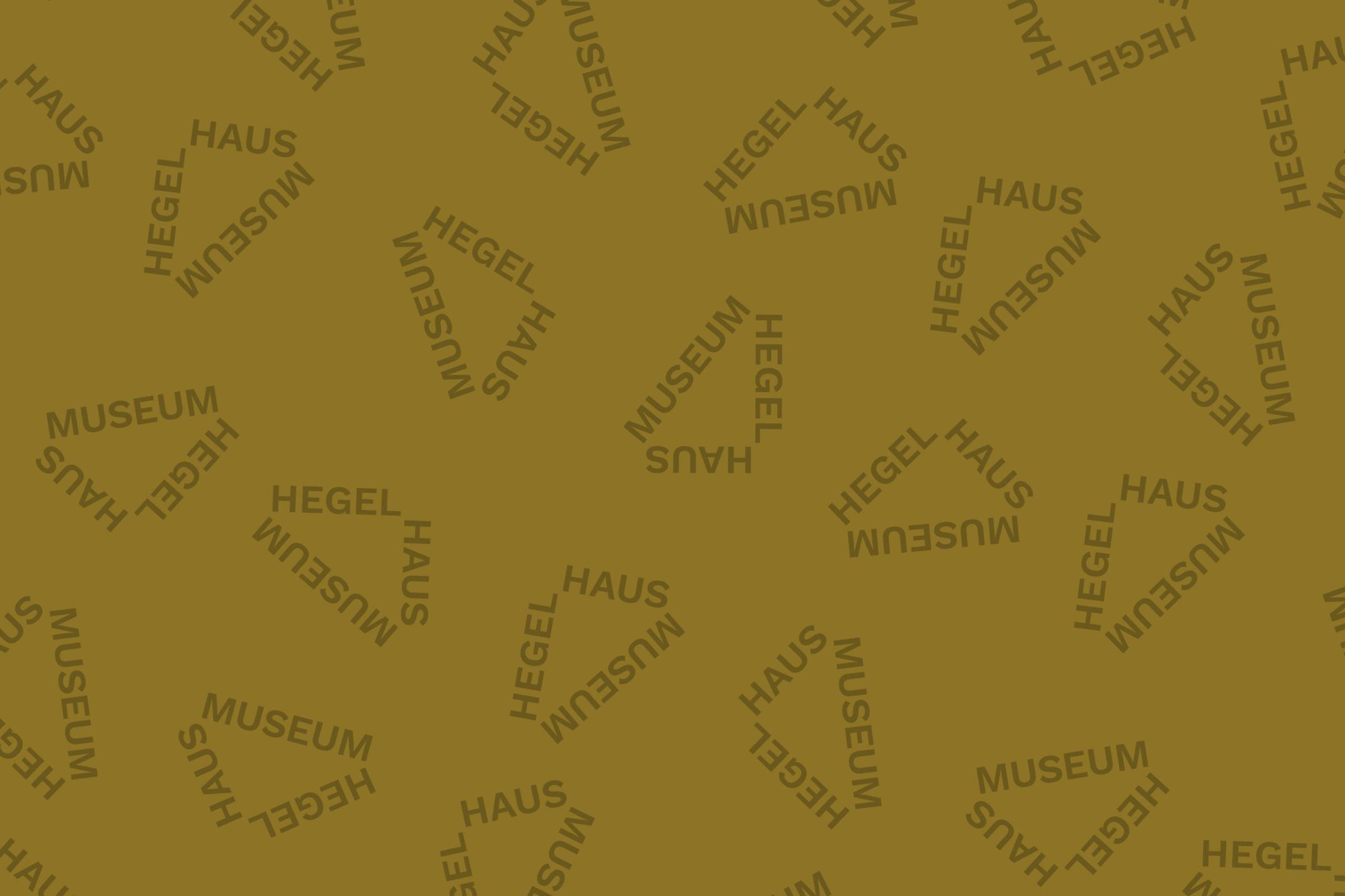 """""""Warum ist Hegel heute wichtig?"""" – Hegel-Gespräche"""
